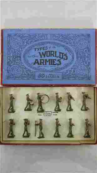 Britains Set #1301 Khaki U.S. Army Band.