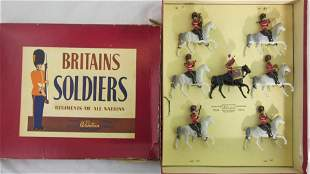 Britains Set #1720 Royal Scots Greys Band.