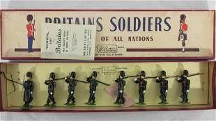 Britains Set #2009 Belgian Foot Grenadiers.