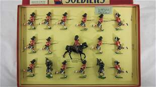 Britains Set #2062 Seaforth Highlanders.
