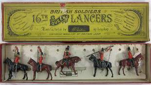 Britains Set #33 16th/5th Lancers Dated 1903.