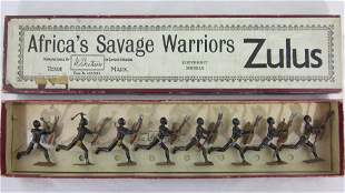 Britains Set #147 Africa's Savage Zulus.