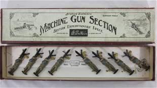 Britains Set #194 British Machine Gun Section.