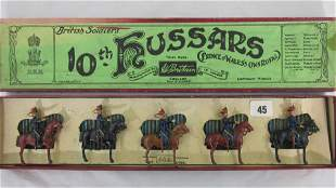 Britains Set #315 Mounted 10th Hussars At Halt.