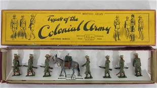 Britains Set #1893 Indian Army Service Corp.