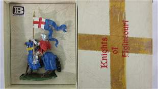 Britains Set #9495 Agincourt Knight With Banner.
