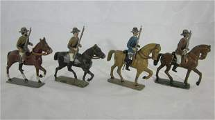 Mignot Mounted Boers With Rifles.