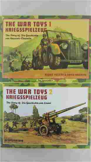 Lineol And Elastolin War Toys Books 1 And 2.