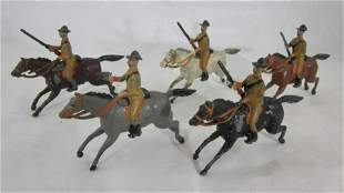 Britains Set #6 Fixed Arm Boer Cavalry.