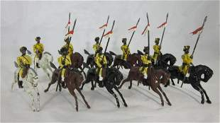 Britains Set #47 Indian Army Skinner's Horse.