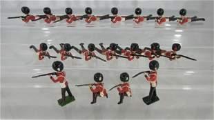 Britains #90 Lying Firing Coldstream Guards.