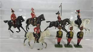 Britains Assorted British Cavalry And Officers.