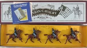 Britains Set #8854 Civil War Union Cavalry.