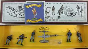 Britains Set #8875 Union Artillery And Crew.