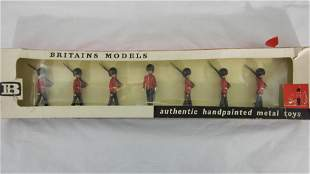 Britains Set #9124 Coldstream Guards Marching.