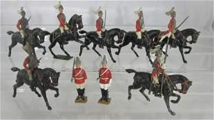 Britains Mounted Lifeguards Assortment.