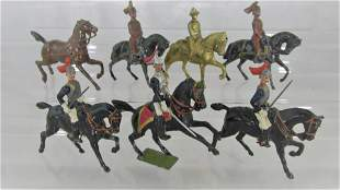Britains Cavalry Assortment And Hanks Figures.