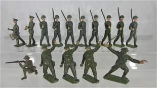 Britains Khaki Figure Assortment.
