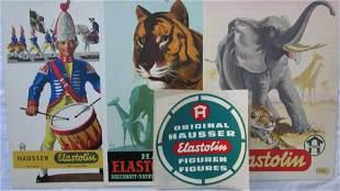 Hausser-Elastolin Toy Shop Posters.