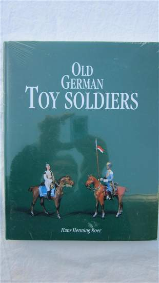 Old German Toy Soldier Research Book.
