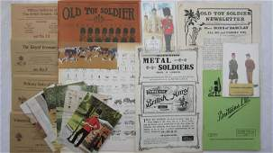 Britains Reprint Catalogs, 1951, 1953 And More.