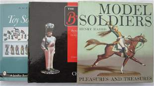 Toy Soldier Research Book Assortment.