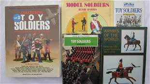 Various Toy And Model Soldier Research Books.