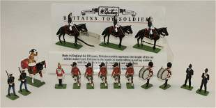 Britains Lot Store Display Stand Misc. Figures