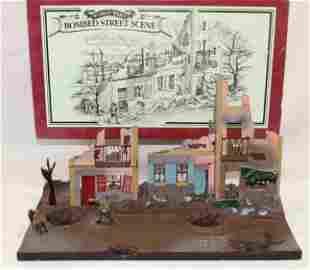 Britains #00159 WWI Bombed Street Scene Diorama