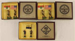 Britains Lot Boy Scouts and Cub Scouts