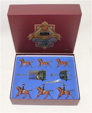 Britains #8825 Royal Horse Artillery Gun Team