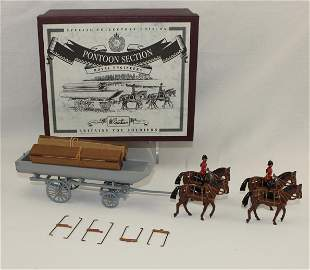 Britains #5962 Royal Engineers Pontoon Section