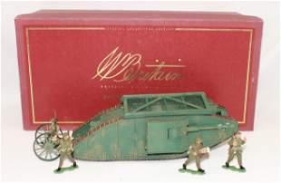 Britains #8946 British Mark I Tank Mother Male