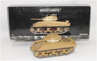Minichamps Sherman Tank