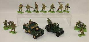 Britains Lot Japanese and US Troops
