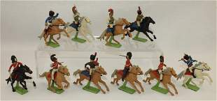Britains Lot Mounted Napoleonic War Figures