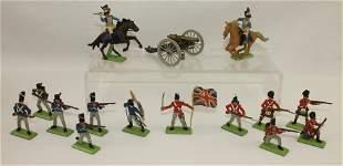 Britains Lot Napoleonic War Figures Cannon