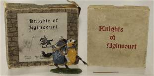 Britains  #1663 Agincourt Mounted Knight