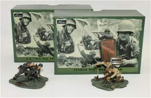 Britains Lot 916th and US Mortar Teams