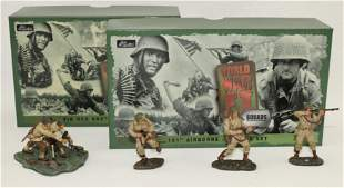 Britains Lot US Mortar Team and 101st Airborne