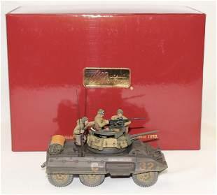 Britains #17823 US 3rd Division Scout Car