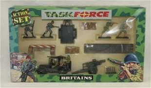 Britains #7615 Plastic Task Force Action Set