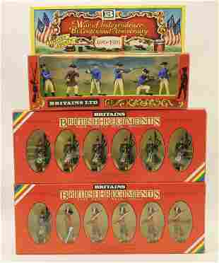 Britains Lot Gordon Highlanders and Swoppet Set