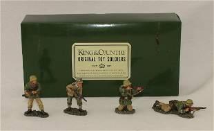 King & Country #AK016 German Fighting Patrol