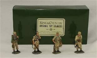 King & Country #AK011 German Patrol Standing