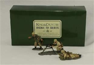 King & Country #AK013 Heavy Machine Gun Team