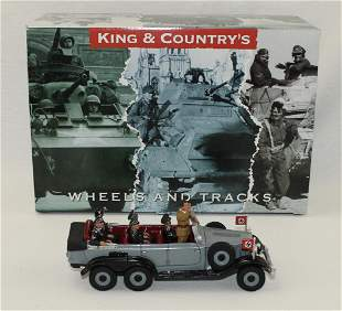 King & Country #LAH087 Hitler and Parade Car