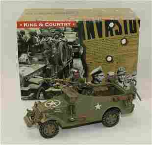 King & Country #BBA016 US Scout Car