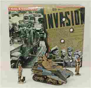 King & Country #EA016 Desert Vickers Tank