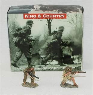 King & Country #EA020 British Soldiers Fighting